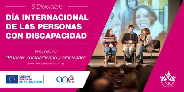 Día Internacional de las Personas con Discapacidad Ayuntamiento de Oviedo Vinjoy